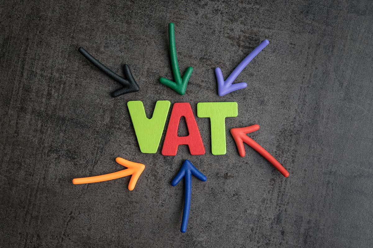 vat with arrows